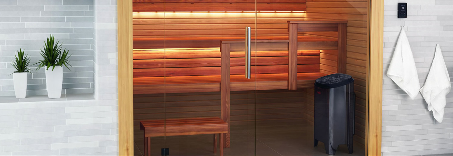 Saunas and Steam Rooms from Mag Bathrooms of Norwich